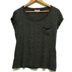 🐣 2/$20 Calvin Klein Gray Blouse Chain